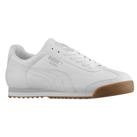 PUMA Roma Basic - Men's - White / Grey