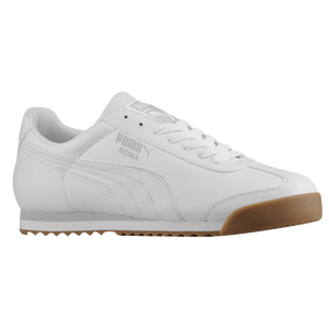 PUMA Roma Basic - Men's - White/Glacier Grey