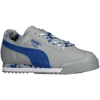 PUMA Roma - Boys' Grade School - Grey / Blue