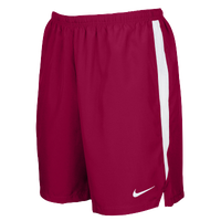 "Nike Team Dry Challenger 7"" Shorts - Men's - Cardinal / White"