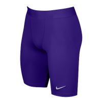 Nike Team Power Stock Race Day Tight Half - Men's - Purple / Purple