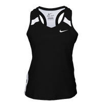 Nike Team Power Stock Race Day Tank - Women's - Black / White