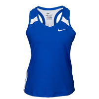 Nike Team Power Stock Race Day Tank Tights - Women's - Blue / White