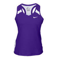 Nike Team Power Stock Race Day Tank - Women's - Purple / White