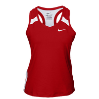 Nike Team Power Stock Race Day Tank - Women's - Red / White