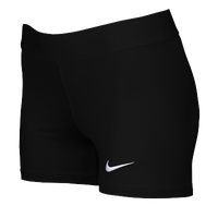 Nike Team Power Stock Race Day Boyshorts - Women's - All Black / Black