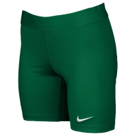 Nike Team Power Stock Race Day Tight Half - Women's - Dark Green / Dark Green