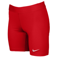 Nike Team Power Stock Race Day Tight Half - Women's - Red / Red