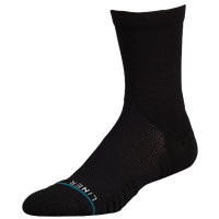 Stance Fusion Basketball Liner High Quarter Socks - Black / Black