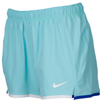 Nike LAX Shorts - Women's - Light Blue / White