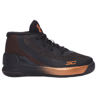 Under Armour Curry 3 - Boys' Toddler -  Stephen Curry - Black / Orange