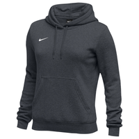 Nike Team Club Fleece Hoodie - Women's - Grey / Grey