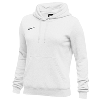 Nike Team Club Fleece Hoodie - Women's - All White / White