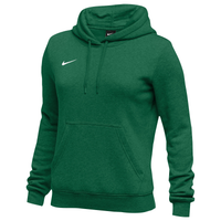 Nike Team Club Fleece Hoodie - Women's - Dark Green / Dark Green