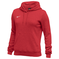 Nike Team Club Fleece Hoodie - Women's - Red / Red
