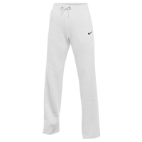 Nike Team Club Fleece Pants - Women's - All White / White