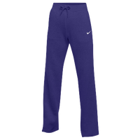 Nike Team Club Fleece Pants - Women's - Purple / Purple