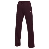 Nike Team Club Fleece Pants - Women's - Maroon / Maroon