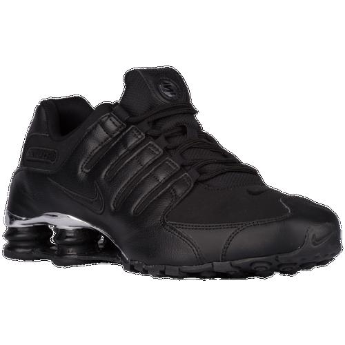 Nike Shox NZ - Men\u0026#39;s - Black / Silver