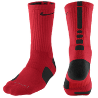 Nike Elite Basketball Crew Socks - Men's - Red / Black