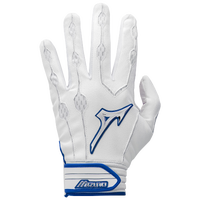 Mizuno Covert Batting Gloves - Men's - White / Blue
