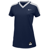 Nike Team Dri-Fit Game Jersey - Girls' Grade School - Navy / Grey