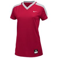 Nike Team Dri-Fit Game Jersey - Girls' Grade School - Red / Grey