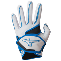 Mizuno Nighthawk Batting Gloves - Women's - White / Light Blue