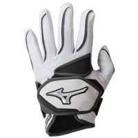 Mizuno Nighthawk Batting Gloves - Women's - White / Black