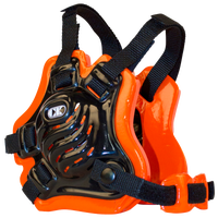 Cliff Keen F5 Tornado Headgear - Men's - Black / Orange