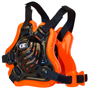Cliff Keen F5 Tornado Headgear - Men's - Black/Orange/Black