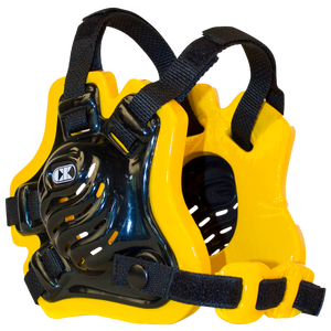Cliff Keen F5 Tornado Headgear - Men's - Black/Gold/Black