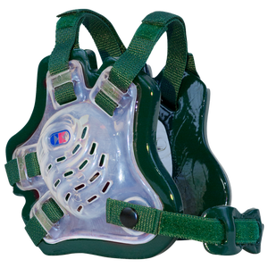 Cliff Keen F5 Tornado Headgear - Men's - Translucent/Green/Green