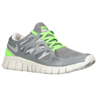 Nike Free Run +2 - Women's - Grey / Light Green