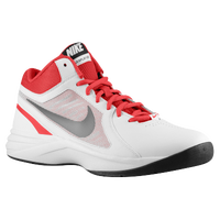 Nike Overplay VIII - Men's - White / Red