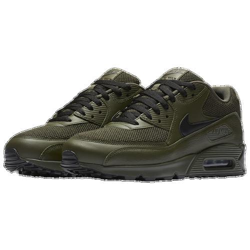 Nike Air Max 90 Men S Running Shoes Cargo Khaki Black