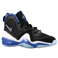 Nike Air Penny 5 - Boys' Grade School - Black / White
