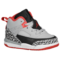 Jordan Spizike - Boys' Toddler - Grey / Red