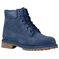 "Timberland 6"" Premium Waterproof Boots - Boys' Grade School - Navy / Tan"