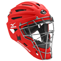 Mizuno Samurai Catchers Helmet G4 - Men's - Red / Red