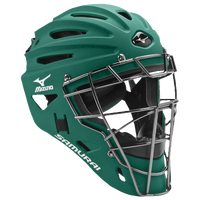 Mizuno Samurai Catchers Helmet G4 - Boys' Grade School - Dark Green / Dark Green