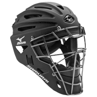 Mizuno Samurai Catchers Helmet G4 - Boys' Grade School - Black / Silver