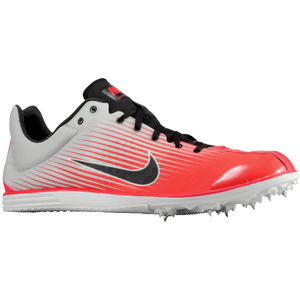 Nike Zoom Rival D 7 - Men's - Pure Platinum/Bright Crimson/Black