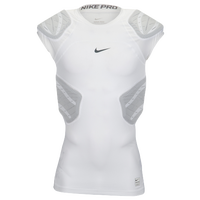 Nike Hyperstrong Sleeveless 4-Pad Top - Men's - White / Grey