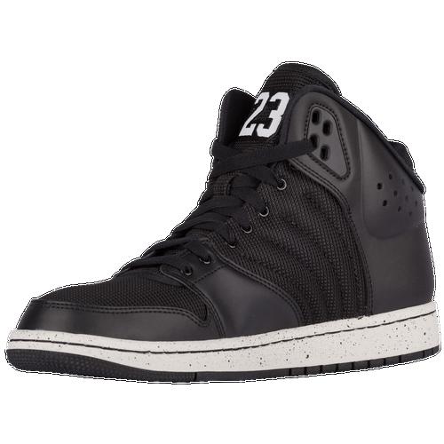 ... Flight 4 - Men's - Basketball - Shoes - Black/Pure Platinum/Black