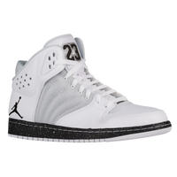 Jordan 1 Flight 4 - Men's - White / Grey