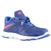 Nike Flex Supreme TR3 - Girls' Preschool - Blue / Light Blue