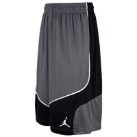 Jordan Prospect Shorts - Men's - Grey / Grey