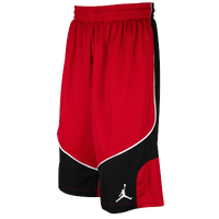 Jordan Prospect Shorts - Men's - Red / Red