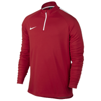 Nike Academy 1/2 Zip Top - Men's - Red / White